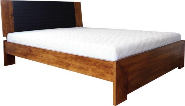 Łóżko GOTLAND EKODOM drewniane, Rozmiar: 140x200, Kolor wybarwienia: Wiśnia, Szuflada: Brak Darmowa dostawa, Wiele produktów dostępnych od ręki!