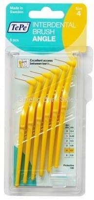TePe Angle szczoteczka międzyzębowa 0,7 mm żółta