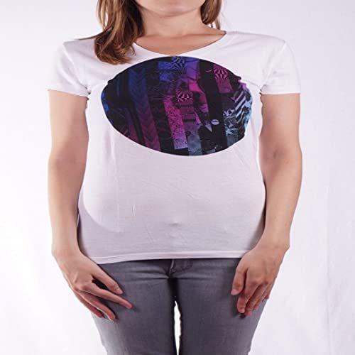 Nitro Snowboards Howling T-shirty M, koszulka, biała, M