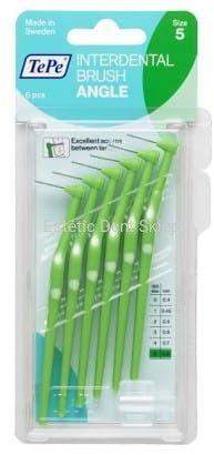 TePe Angle szczoteczka międzyzębowa 0,8 mm zielona