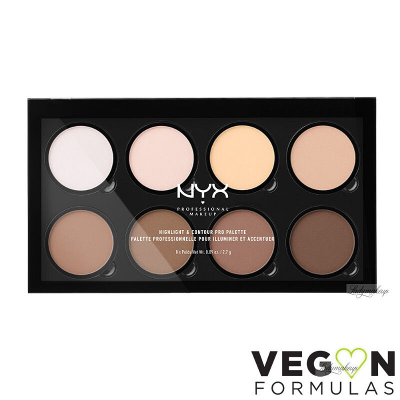 NYX Professional Makeup - HIGHLIGHT & CONTOUR PRO PALETTE - Paleta do konturowania