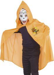 Ciao Domino z maską na Halloween Arancio