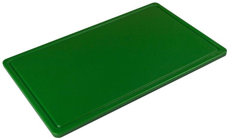 Deska z polietylenu HACCP zielona