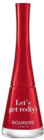 BOURJOIS Paris 1 Second lakier do paznokci 9 ml dla kobiet 09 Let s Get Red(y)