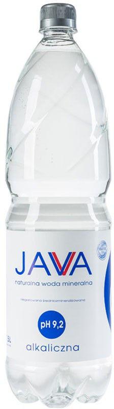 JAVA Naturalna Woda Mineralna Ph 9,2 Alkaliczna 1,5l
