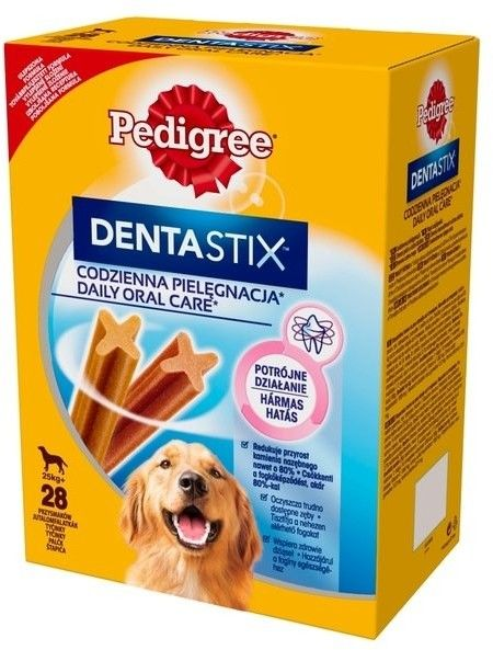 Pedigree DentaStix duże rasy 4x270g