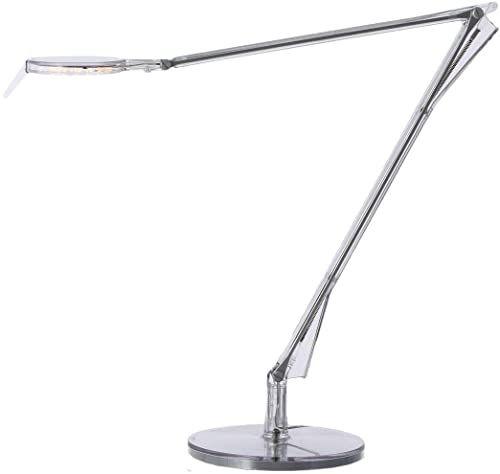 Kartell Aledin TEC, lampa stołowa, ze ściemniaczem, przezroczysta