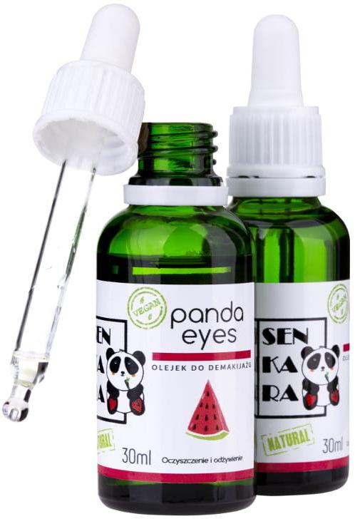 Senkara Olejek Do Demakijażu Oczu Panda Eyes, 30 ml