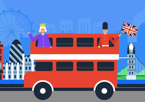 Pakiet aplikacji do Smartfloor - Red bus
