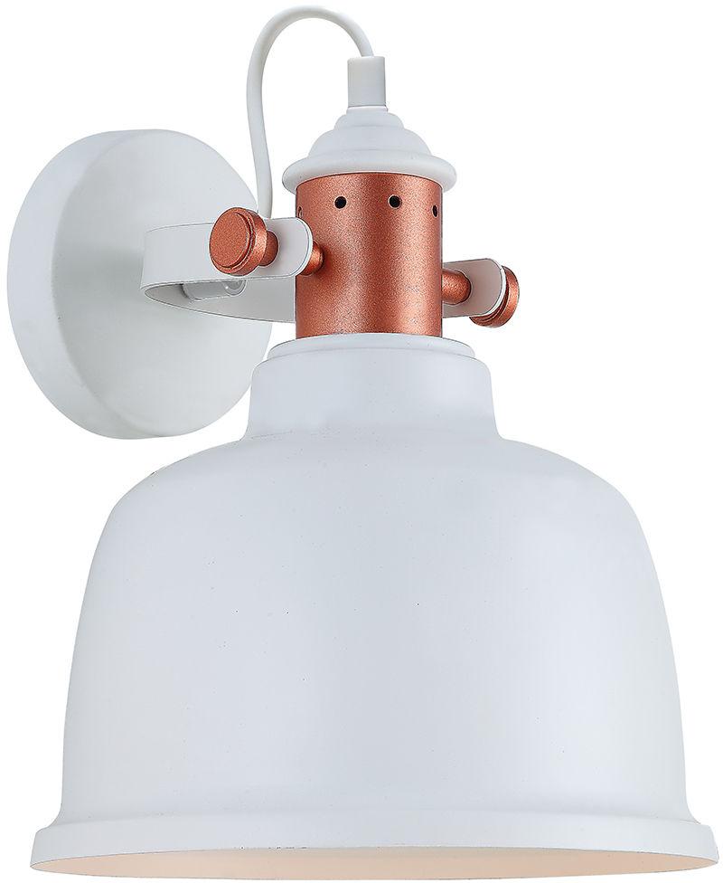 Italux kinkiet lampa ścienna Treppo MBM-2987/1 W biały metalowy