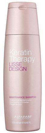 Alfaparf Lisse Design Keratin Therapy szampon po keratynowym prostowaniu włosów 250ml