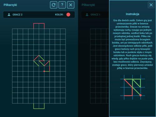 Pakiet aplikacji do Smartfloor - Bitwy logiczne
