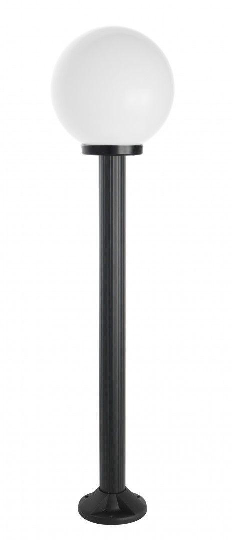 SU-MA Kule K 5002/2/K 250 lampa czarna stojąca klosz 25 cm E27 125cm