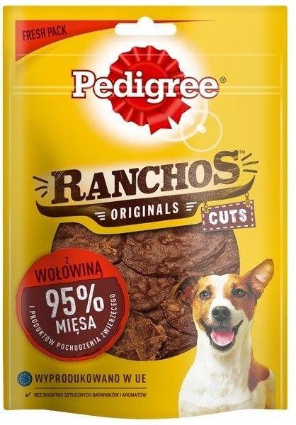 Pedigree Ranchos Deli Cuts z wołowiną 65g