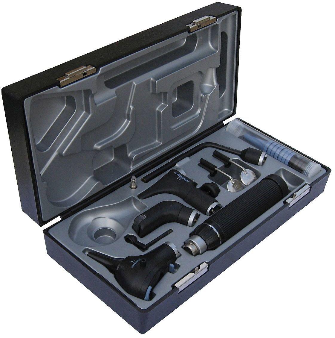 Riester ri-scope zestaw praktikant LED 3,5 V rękojeść typu C z akumulatorem i ładowarką