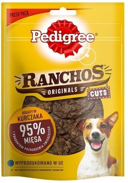 Pedigree Ranchos Deli Cuts z kurczakiem 65g