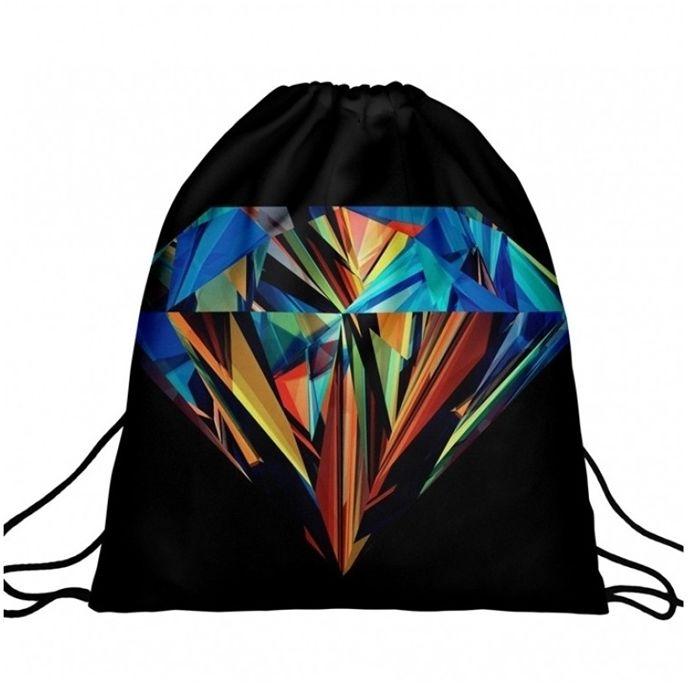 Worek plecak z nadrukiem Diamond Colors A4