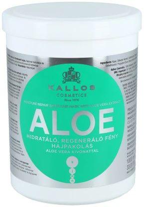 Kallos Aloe maska do włosów suchych i łamiących 1000 ml