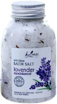Sól mineralna LAWENDA I DRZEWO SANDAŁOWE Kanu, 350g
