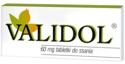 Validol 10 tabletek do ssania
