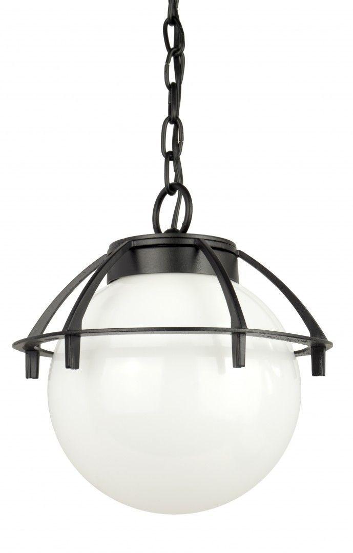 SU-MA Kule z koszykiem 200 K 1018/1/KPO lampa wisząca klosz biały 20 cm E27
