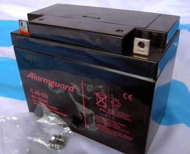 Akumulator żelowy 6V 20Ah