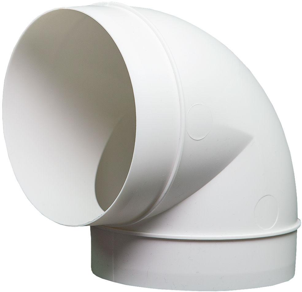 Kolanko okrągłe DOMUS 90  fi 12,5 cm kod 590 - Największy wybór - 28 dni na zwrot - Pomoc: +48 13 49 27 557