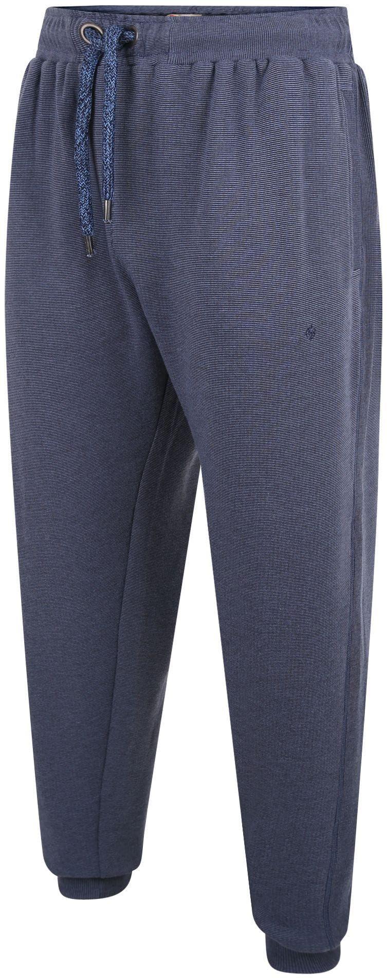 Espionage LW118 Duże Spodnie Dresowe Niebieskie