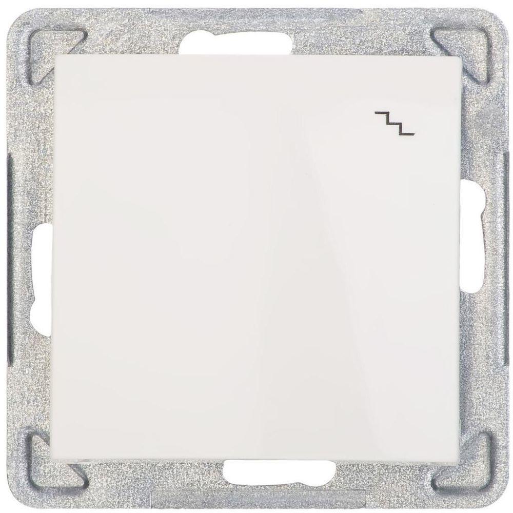 Włącznik pojedynczy schodowy IMPRESJA Ecru OSPEL