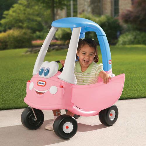 Jeździk Cozy Coupe Princess dla dzieci Little Tikes Samochód