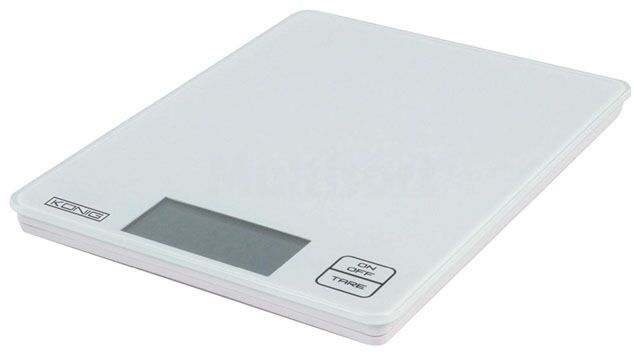 Elektroniczna waga kuchenna KÖNIG KS13N 5kg/1g 17x22cm