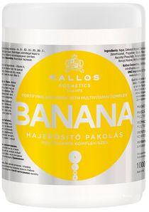 Kallos Banana maska wzmacniająca do włosów suchych 1000 ml