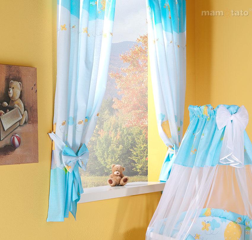 MAMO-TATO Zasłonki Ślimaki w błękicie