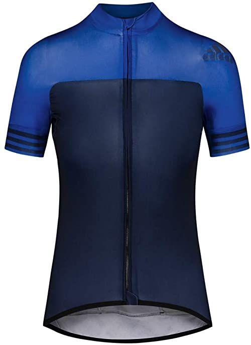 adidas damska koszulka adidas adidas niebieski Conavy/Croyal M