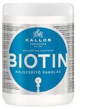 Kallos Biotin upiększająca maska do włosów cienkich i słabych 1000 ml