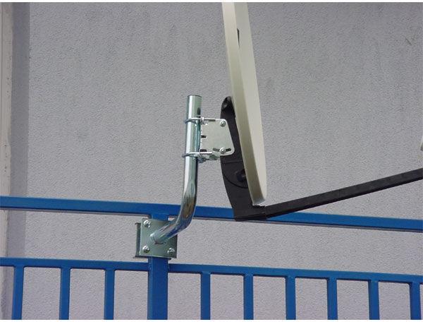 0402051 Uchwyt balkonowy BA230 do anten satelitarnych