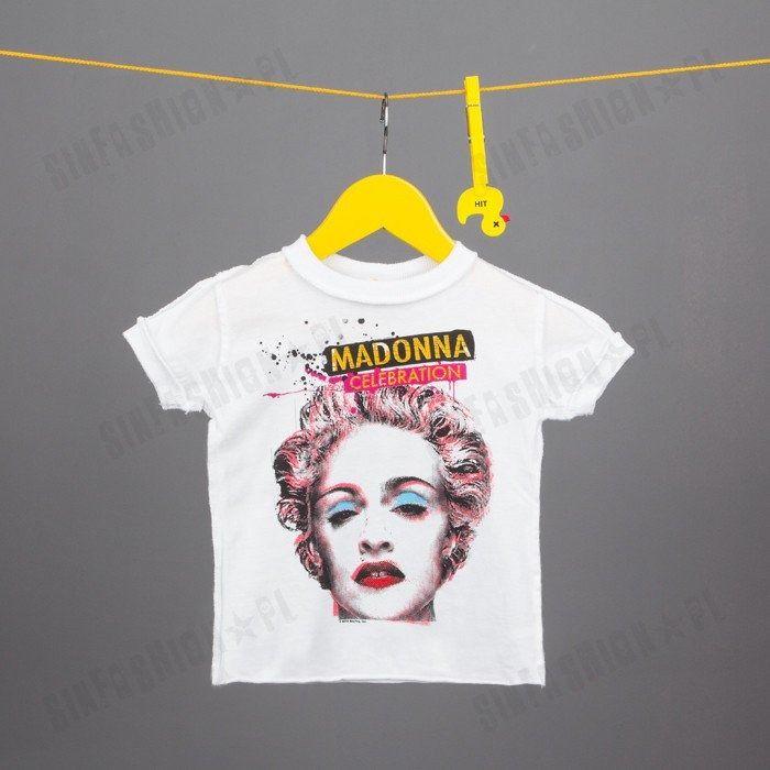 Koszulka amplified -madonna celebration kids wht