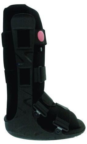 Orteza typu Walker sztywna z tworzywa sztucznego na goleń i stopę AT53005