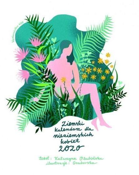 Ziemski kalendarz dla nieziemskich kobiet 2020 ZAKŁADKA DO KSIĄŻEK GRATIS DO KAŻDEGO ZAMÓWIENIA