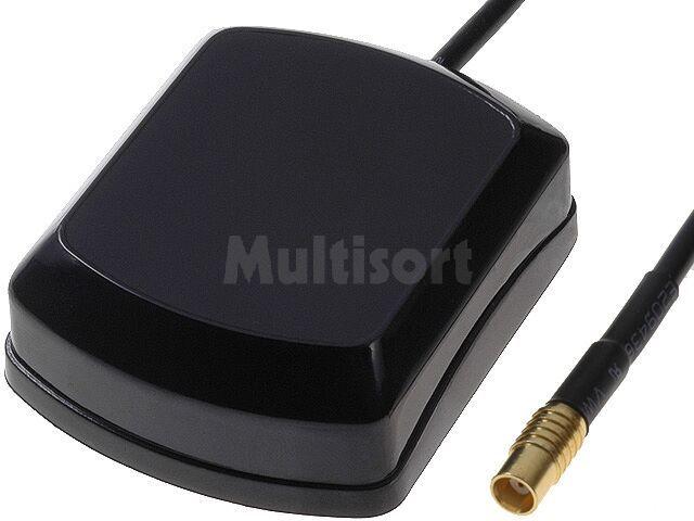 Antena GPS z wtykiem MCX prostym żeńskim