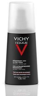 Vichy Homme Deodorant dezodorant w sprayu przeciw nadmiernej potliwości 100 ml + do każdego zamówienia upominek.