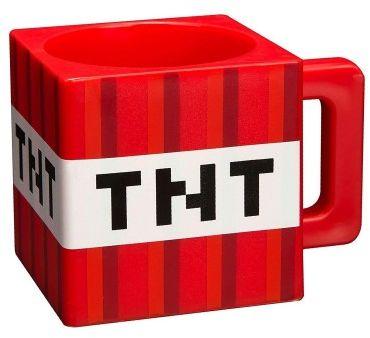 Kubek plastikowy Minecraft TNT