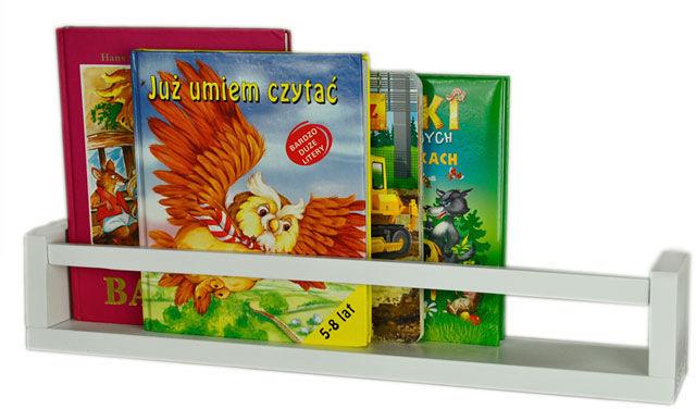 Półka na zabawki Liptos 80 cm - 12 kolorów