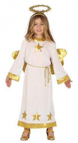 Kostium dla dziewczynki Aniołek Gold Star