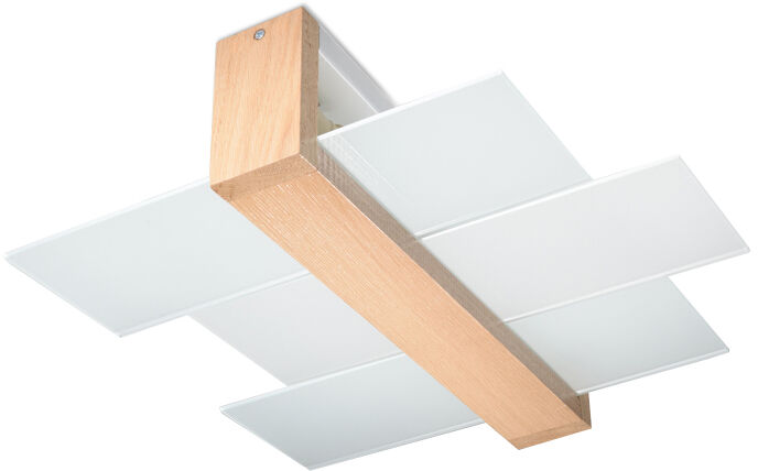 Plafon FENIKS 2 naturalne drewno SL.0076 - Sollux  Sprawdź kupony i rabaty w koszyku  Zamów tel  533-810-034
