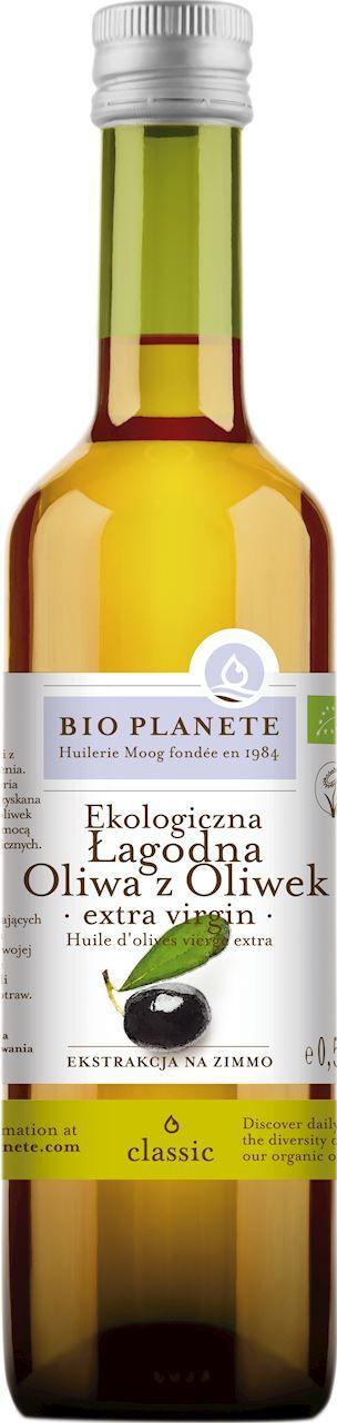Oliwa z oliwek extra virgin bio 500 ml - bio planete