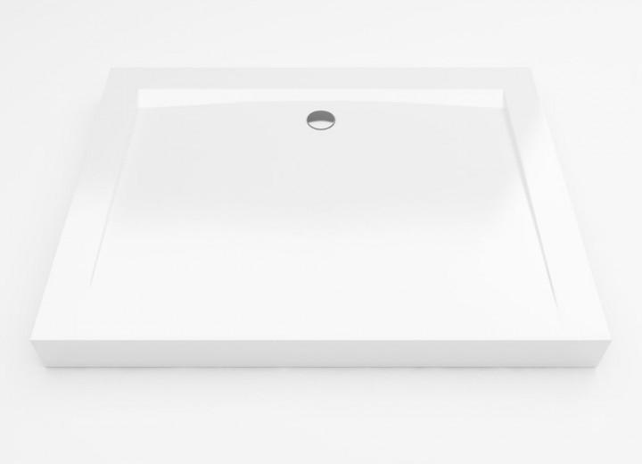 Brodzik prostokątny Excellent Forma 90x120 biały BREX.FOR12WHN