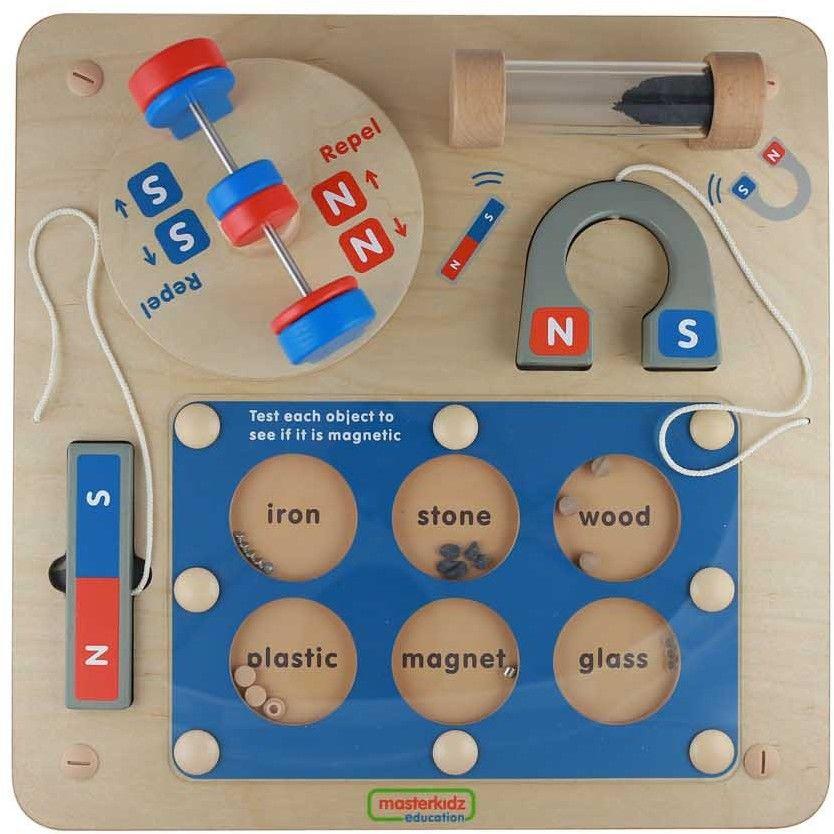 Nauka o Przyciąganiu Magnetycznym - Ścienna Tablica Edukacyjna Masterkidz Flex