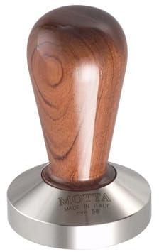 Motta tamper stalowy Bubinga 58 mm płaski