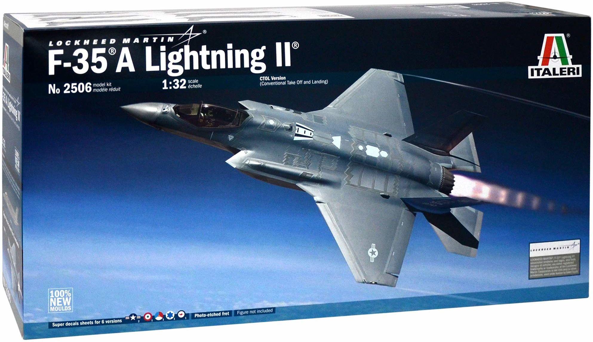 Italeri 2506 - 1:32 Lockheed F-35A Lighting II lotnik